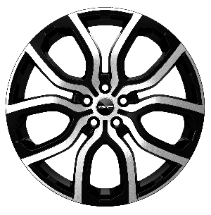 GMP EVOS 208 NERO DIAMANTATO - 8 x 20'' - ET 45 - PCD 5X108