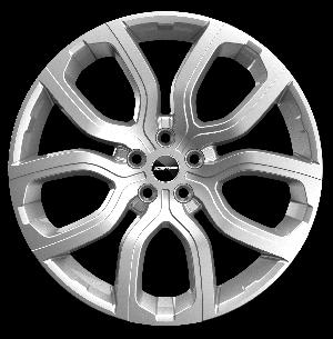GMP EVOS 208 SILVER - 8 x 20'' - ET 45 - PCD 5X108